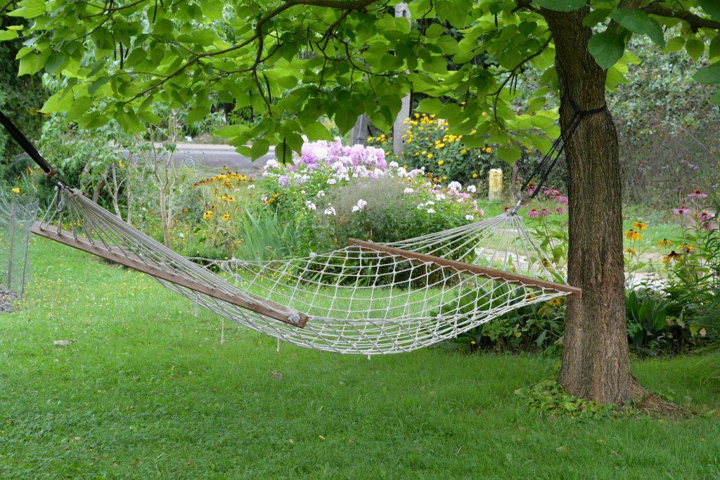 Hamaca para jardín