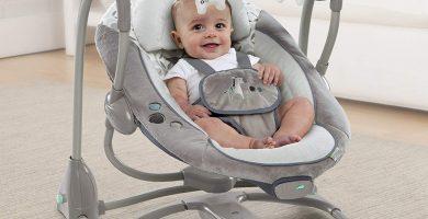 Hamaca eléctrica para bebés