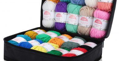 hilo para tejer ovillos de lana
